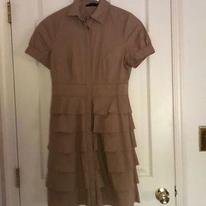 The Limited Button-Up Dress
